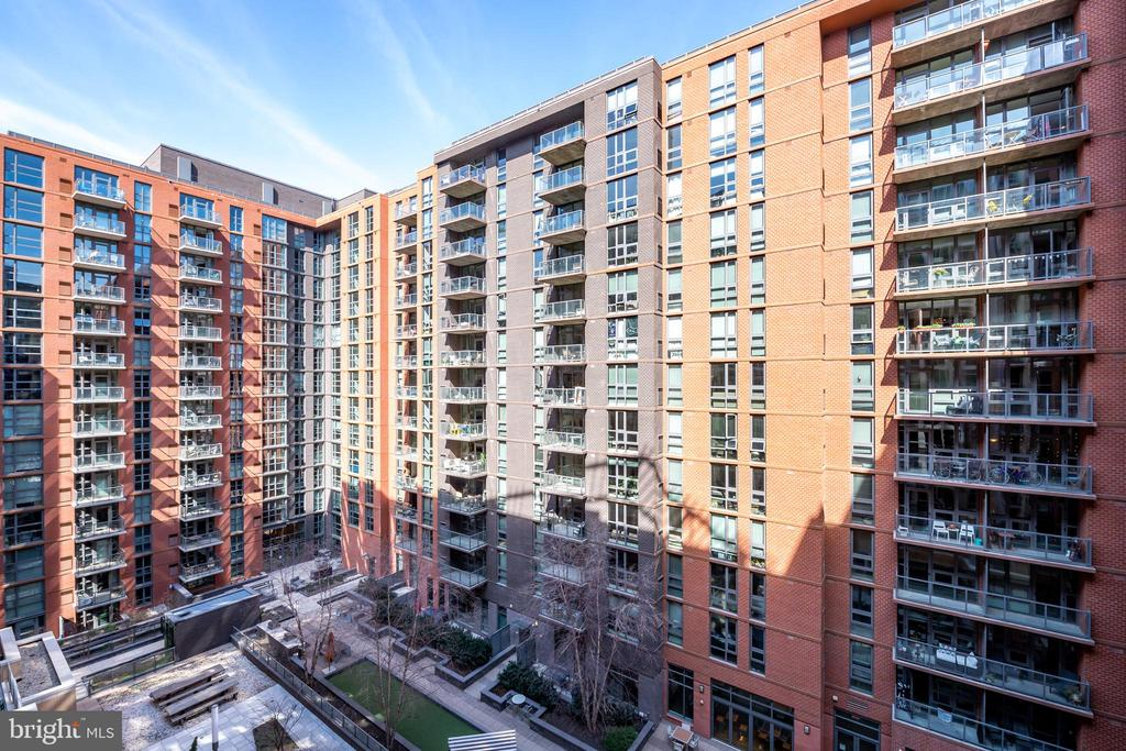 The view includes phase II and III at the Velocity - 1025 1ST ST SE #801, WASHINGTON