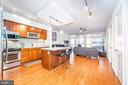 Beautiful Hardwood Flooring Throughout - 1025 1ST ST SE #801, WASHINGTON