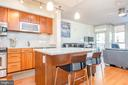 Kitchen Island with Seating - 1025 1ST ST SE #801, WASHINGTON