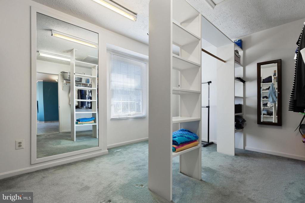 Large Walk-in Closet + Additional Cedar Closet - 16 STAFFORD CT, STERLING