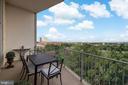 Balcony 2 - 1200 N NASH #544, ARLINGTON