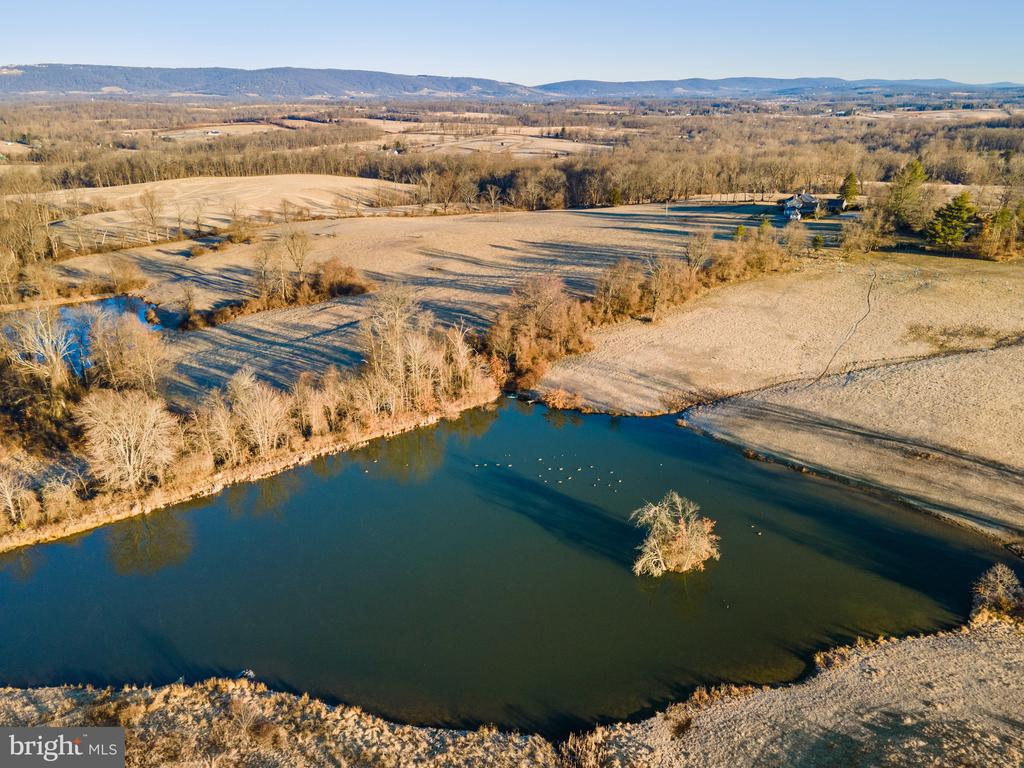 Largest of two spring fed ponds - 21943 ST LOUIS RD, MIDDLEBURG