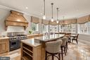 Custom Kitchen - 825 CLINTON PL, MCLEAN