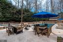Patio - 825 CLINTON PL, MCLEAN