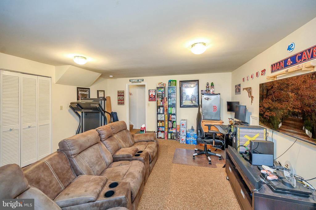 Lower Level Rec Room - 706 PINNACLE DR, STAFFORD
