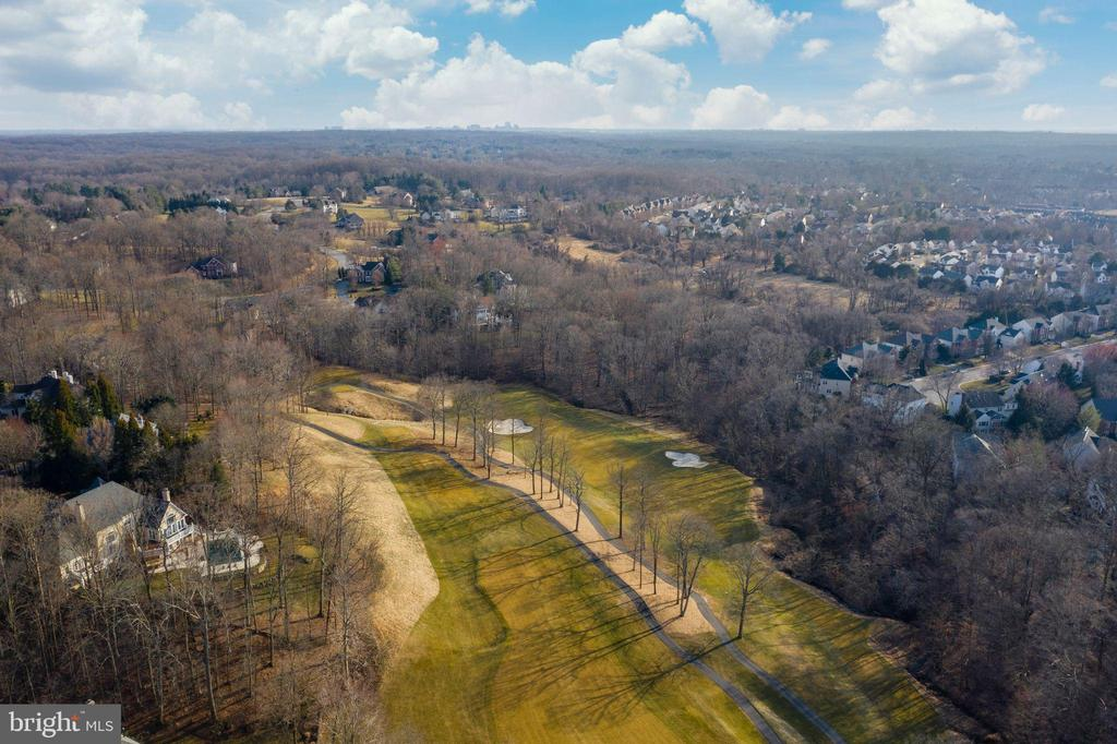 From Trump National golf course view to the lot - 318 SINEGAR PL, GREAT FALLS