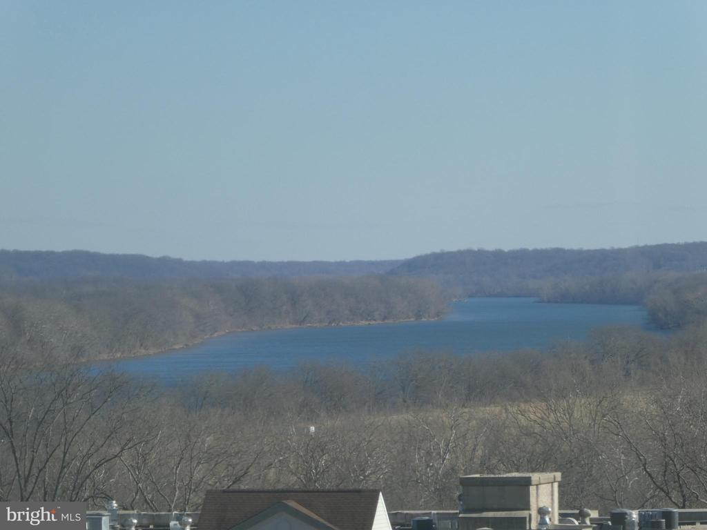 Distant view from Sunrm of unit 416* Potomac River - 19365 CYPRESS RIDGE TER #416, LEESBURG
