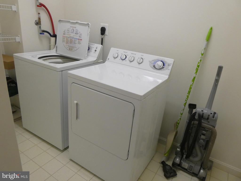 Washer/Dryer convey, located on Guest Side - 19365 CYPRESS RIDGE TER #416, LEESBURG