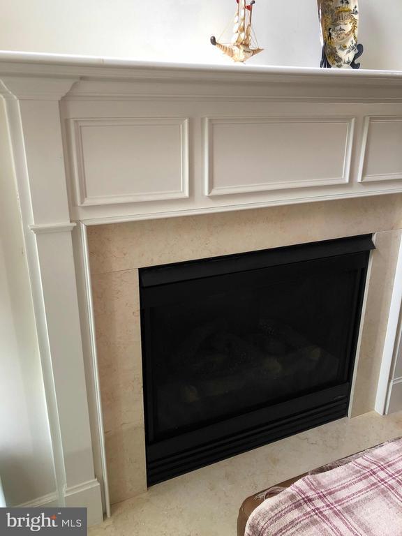 Fireplace - 23600 BENNETT CHASE DR, CLARKSBURG