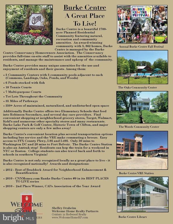 Information about Burke Center - 6302 KNOLLS POND LN, FAIRFAX STATION
