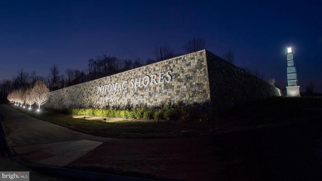 Potomac Shores Community Entrance - 17243 MISS PACKARD CT, DUMFRIES