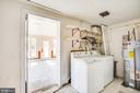 Laundry Room off of Sunroom - 6407 PLANK RD, FREDERICKSBURG