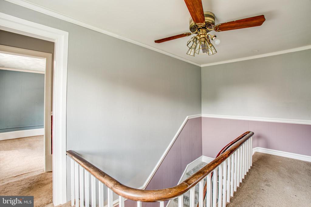 Upstairs Foyer - 6407 PLANK RD, FREDERICKSBURG