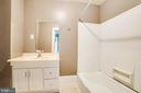 Main Level Full Bathroom - 6407 PLANK RD, FREDERICKSBURG