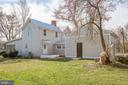 Side/Rear view of home - 6407 PLANK RD, FREDERICKSBURG