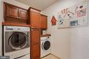 Upper Level Laundry Room - 22522 WILDERNESS ACRES CIR, LEESBURG