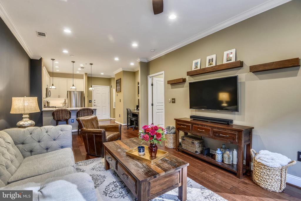 Living Room - 12000 MARKET ST #169, RESTON