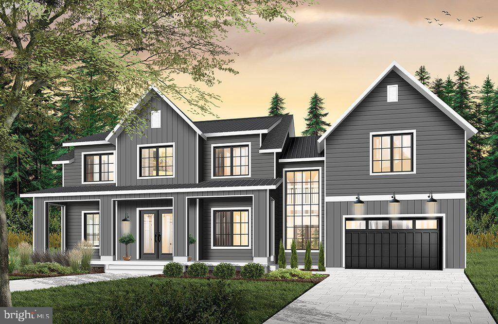 Artist's rendering. Note garage to be side load - 18080 CANBY RD, LEESBURG