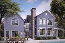 Artist rendering Craftsman design in slate blue - 18080 CANBY RD, LEESBURG