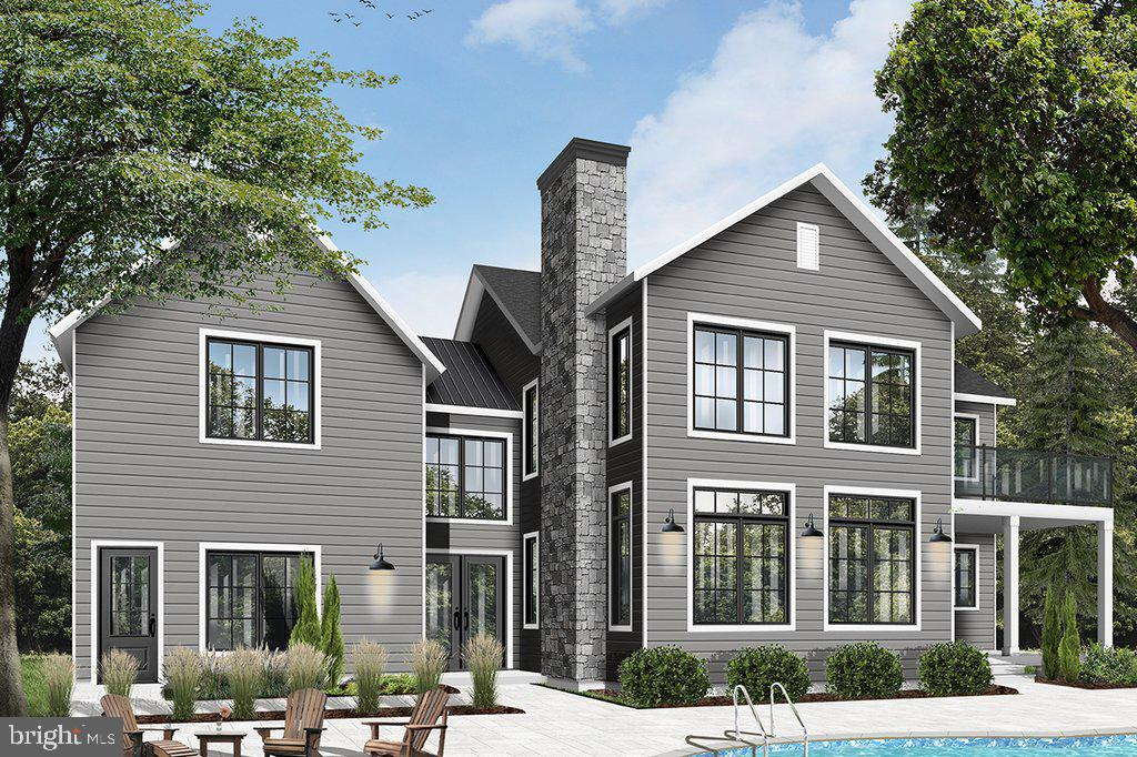 Artist rendering Craftsman design in light grey - 18080 CANBY RD, LEESBURG