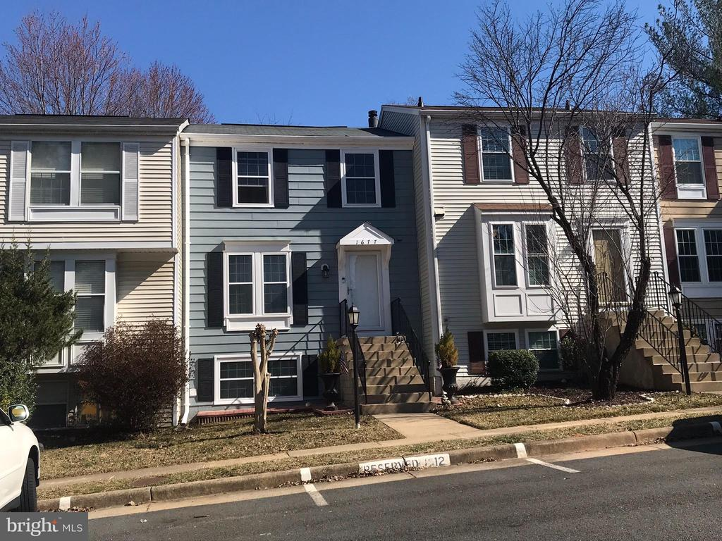 Two Parking Spaces directly in Front - 1677 BAYFIELD WAY, RESTON