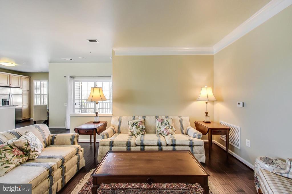 Spacious living room - 20570 HOPE SPRING TER #204, ASHBURN