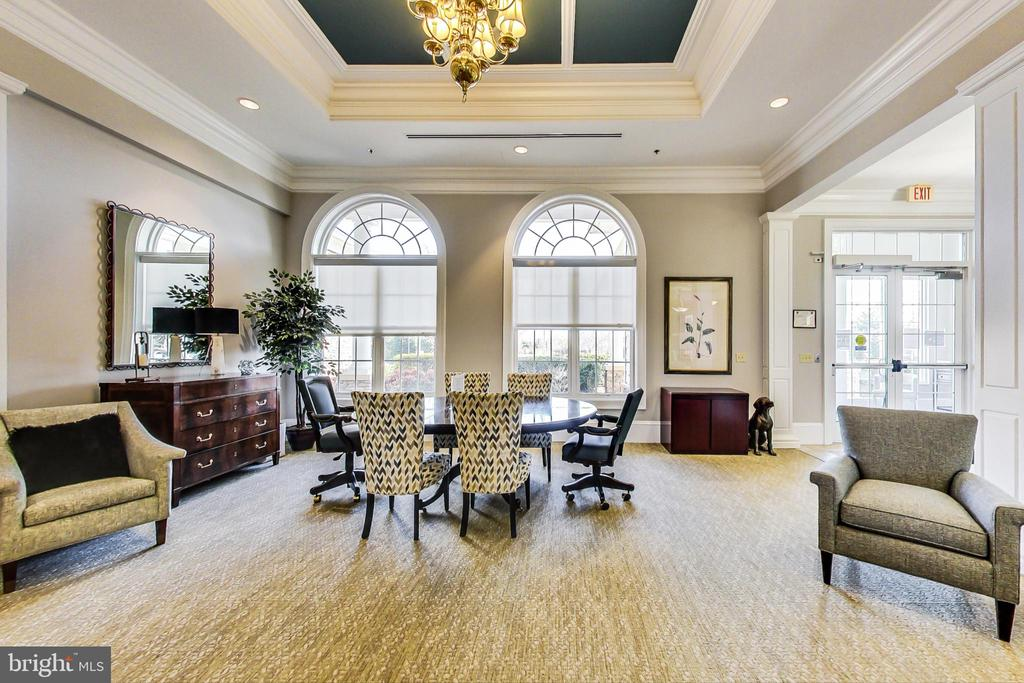 Clubhouse meeting/gathering rooms - 20570 HOPE SPRING TER #204, ASHBURN