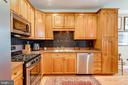 Gas Range & Granite Counter Tops - 10502 CATESBY ROW, FAIRFAX