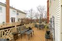 Large Deck - 10502 CATESBY ROW, FAIRFAX