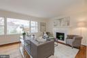 Sunny and Spacious Living Room - 4741 23RD ST N, ARLINGTON