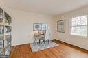 Living Room with office/reading/study space - 4741 23RD ST N, ARLINGTON