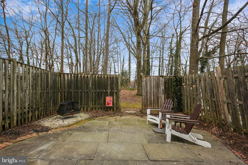 Private backyard oasis with wooded views - 10828 DOUGLAS AVE, SILVER SPRING