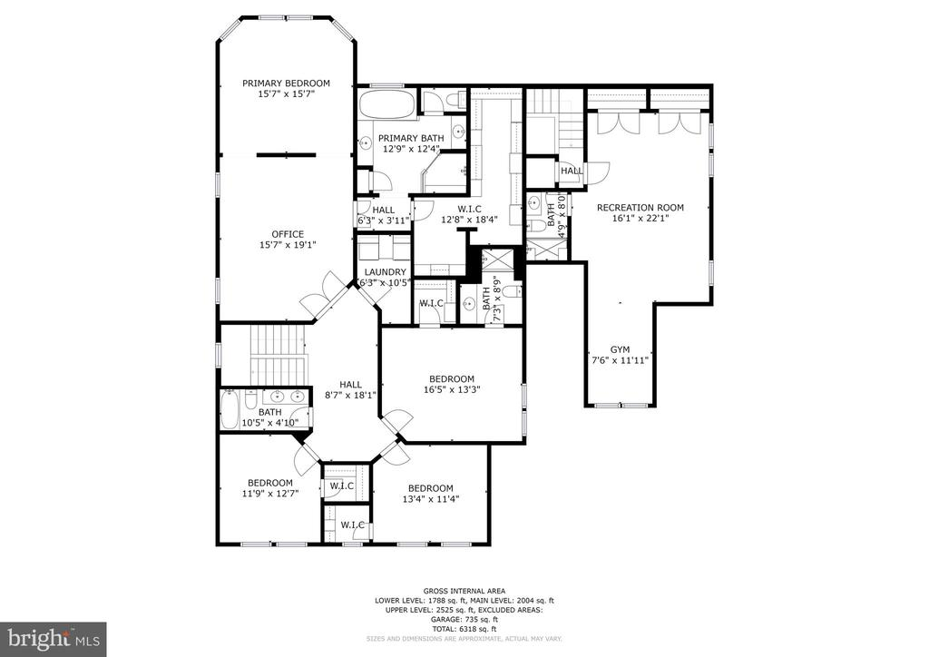 Upper Level Floorplan - 22522 WILDERNESS ACRES CIR, LEESBURG