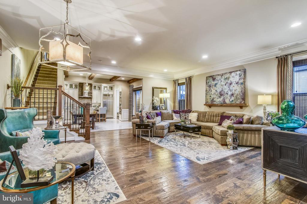 OPEN GREAT RM-ENGINEERED,  WIDE PLANKED HWD FLRS - 20800 EXCHANGE ST, ASHBURN