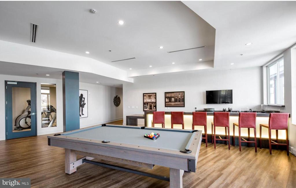 Clubhouse billiards and social area - 42897 BEAVER CROSSING SQ, ASHBURN