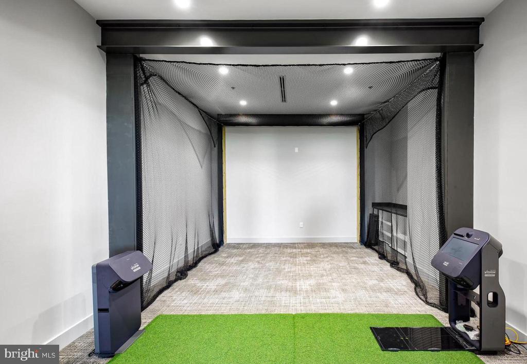 Clubhouse golf simulator - 42897 BEAVER CROSSING SQ, ASHBURN