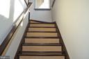 custom stairs - 45060 BRAE TER #201, ASHBURN