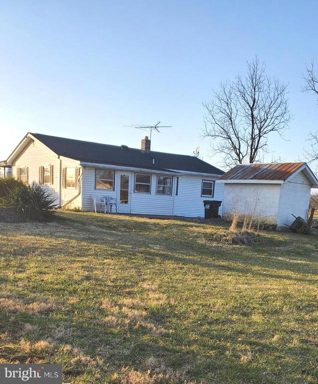 BACK OF HOUSE VIEW - 1700 KIMBLE RD, BERRYVILLE