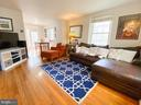 Family Room w/Hardwood Flooring - 2812 S COLUMBUS ST, ARLINGTON
