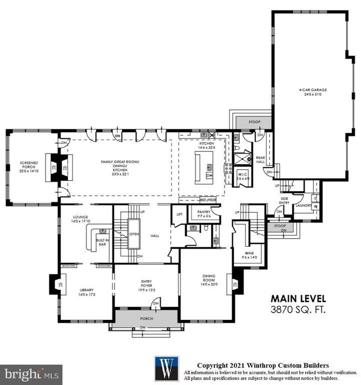 Main Level - 7008 BENJAMIN ST, MCLEAN