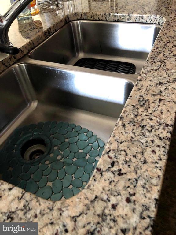 Double kitchen sink! - 23600 BENNETT CHASE DR, CLARKSBURG