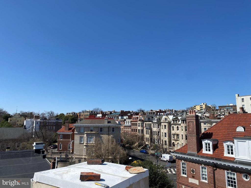 Roof view - Kalorama, S St - 1734 CONNECTICUT AVE NW, WASHINGTON