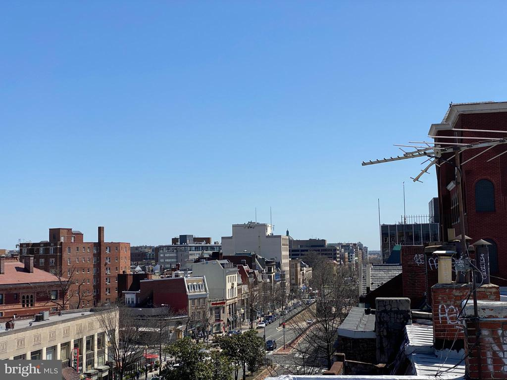 Roof view - South - 1734 CONNECTICUT AVE NW, WASHINGTON