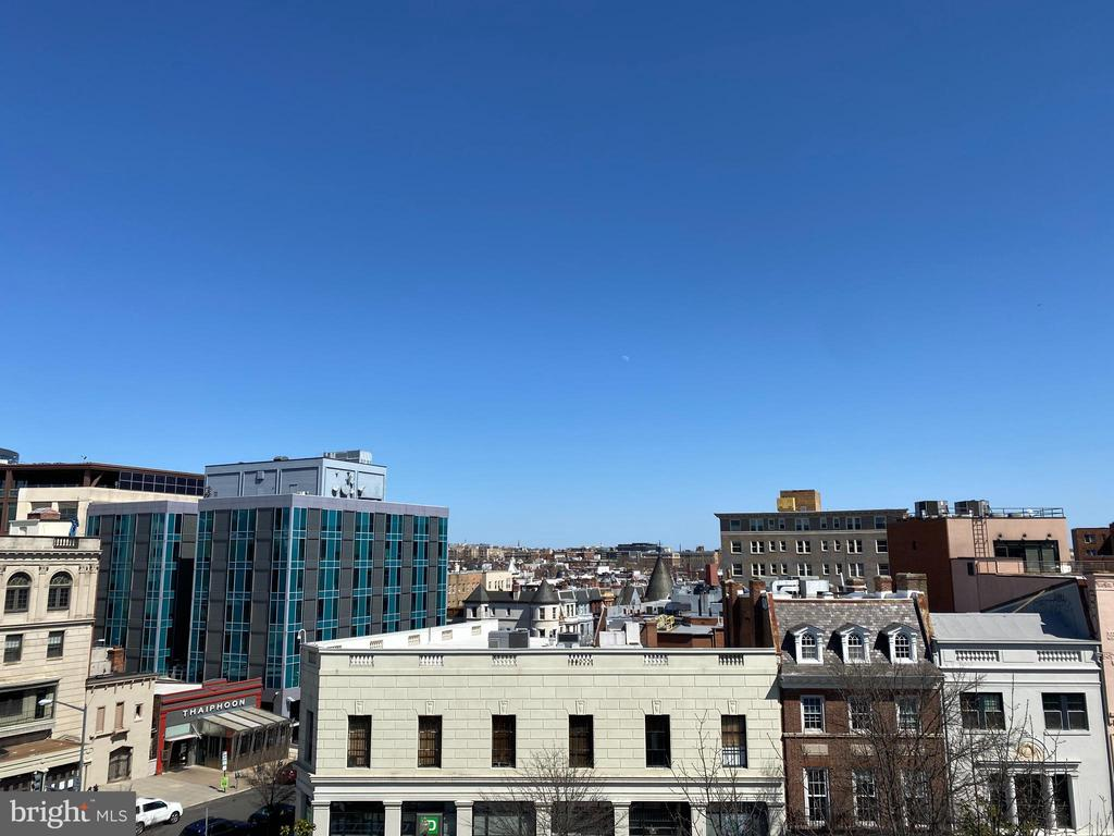 Roof view - East - 1734 CONNECTICUT AVE NW, WASHINGTON