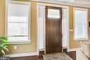 Stunning 8' solid  front door - 208 LIMESTONE LN, LOCUST GROVE