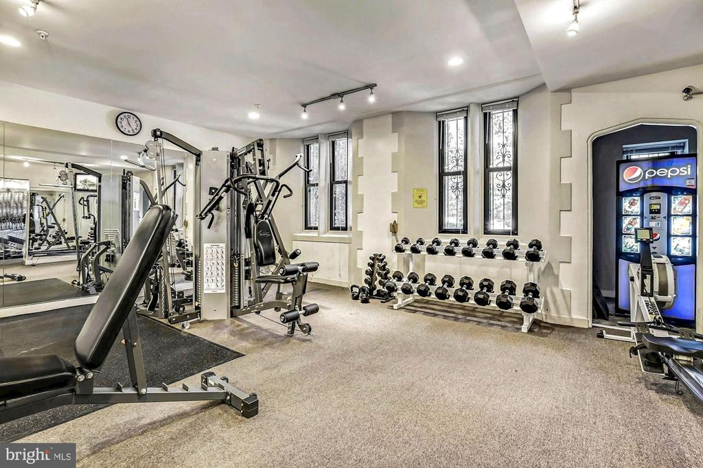 Fitness Center (1 of 2) - 1701 16TH ST NW #318, WASHINGTON