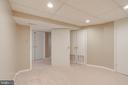 Additional room in the basement - 604 N LATHAM ST, ALEXANDRIA