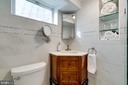 Custom vanity with medicine cabinet - 604 N LATHAM ST, ALEXANDRIA