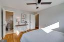 Owner's room with updated en-suite bath - 604 N LATHAM ST, ALEXANDRIA