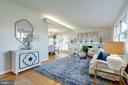 Lots of natural light on the main level - 604 N LATHAM ST, ALEXANDRIA